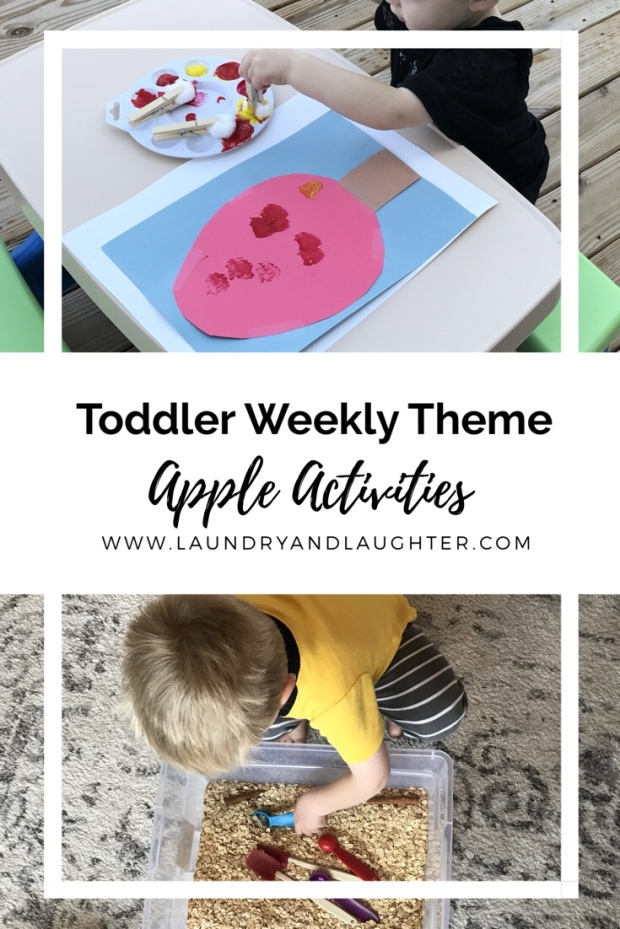 Apple Toddler Activities