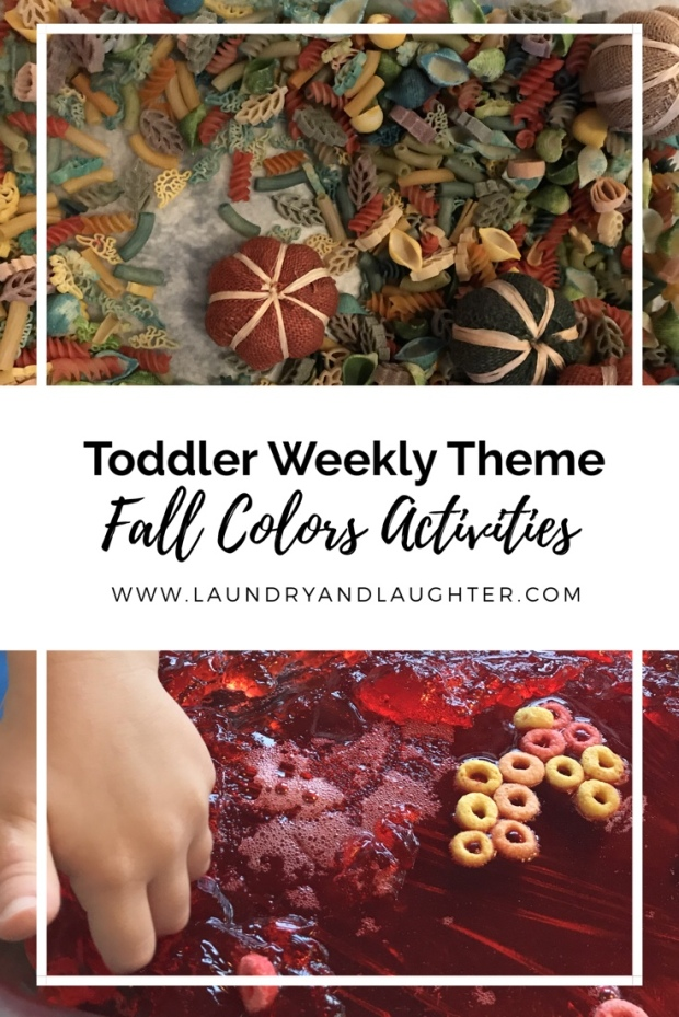 Get activity ideas for a fall colors theme!